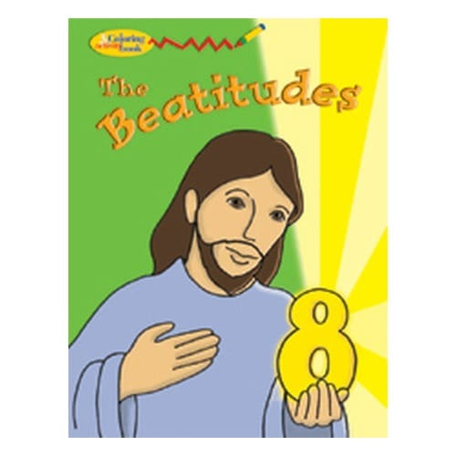 The Eight Beatitudes Coloring And Activity Book The