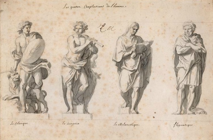 Illustration of the Four Temperaments
