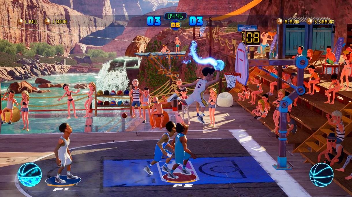 نتيجة بحث الصور عن nba 2k playgrounds 2 gameplay