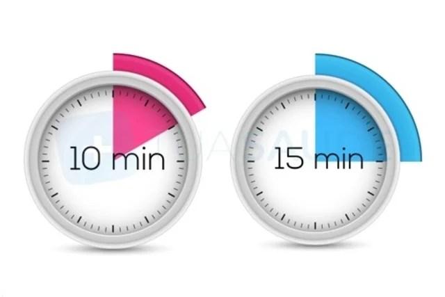 Esperar 10-15 minutos e friccionar a região