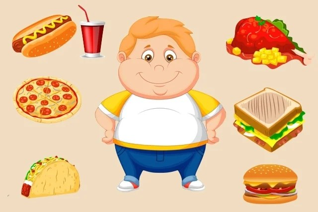 Boy Eating Pie Clip Art