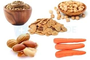 Alimentos ricos em carboidrato complexos