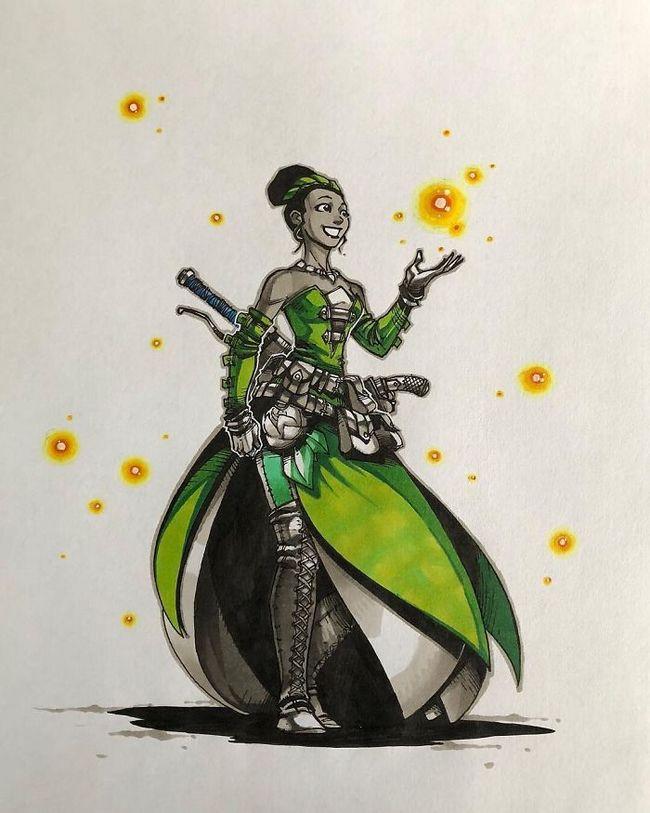 Artista transforma 10 princesas da disney em guerreiras