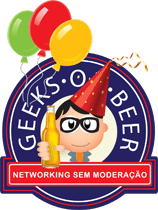 Logo do Geeks on Beer