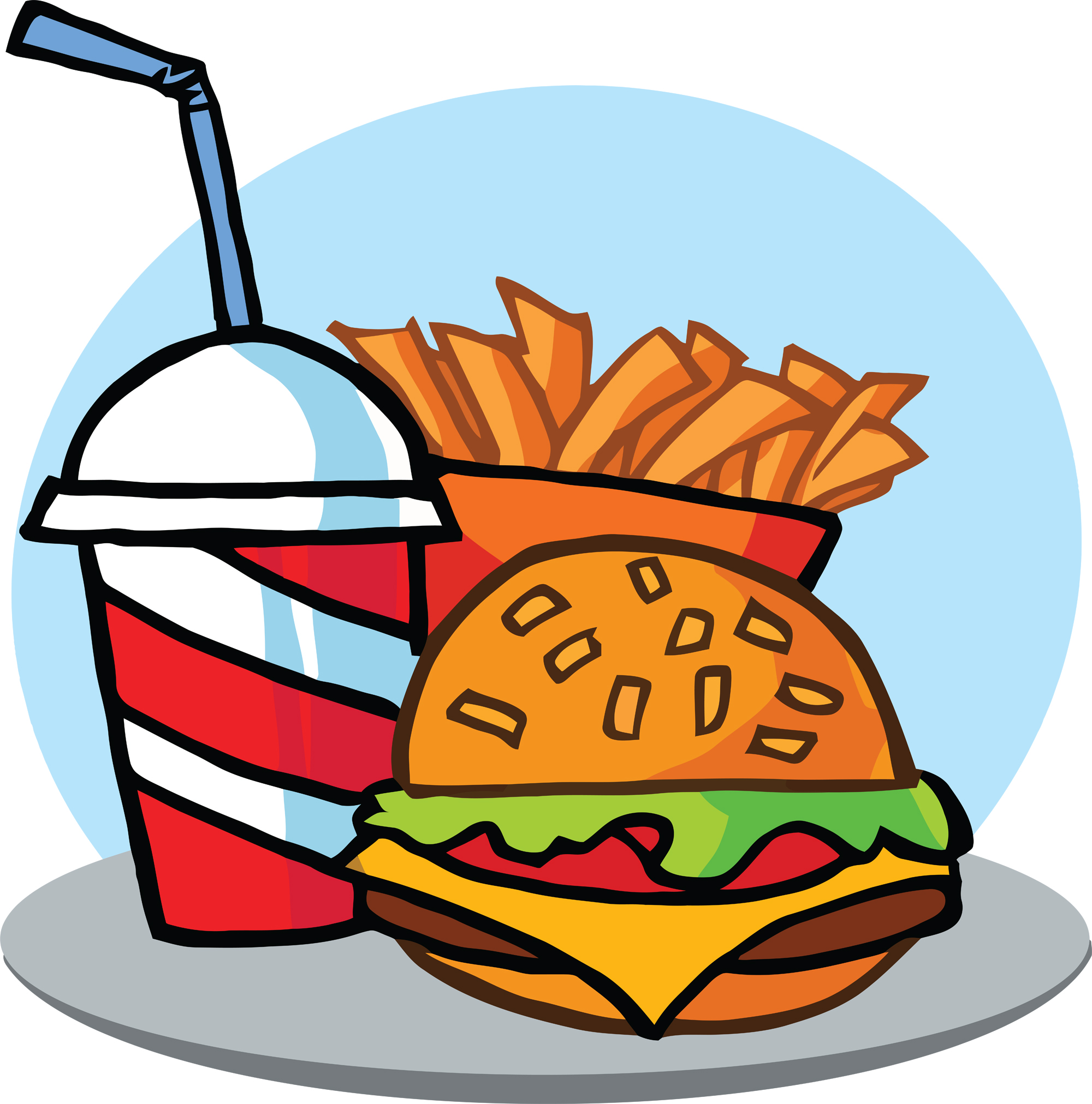 Image result for fast food clipart