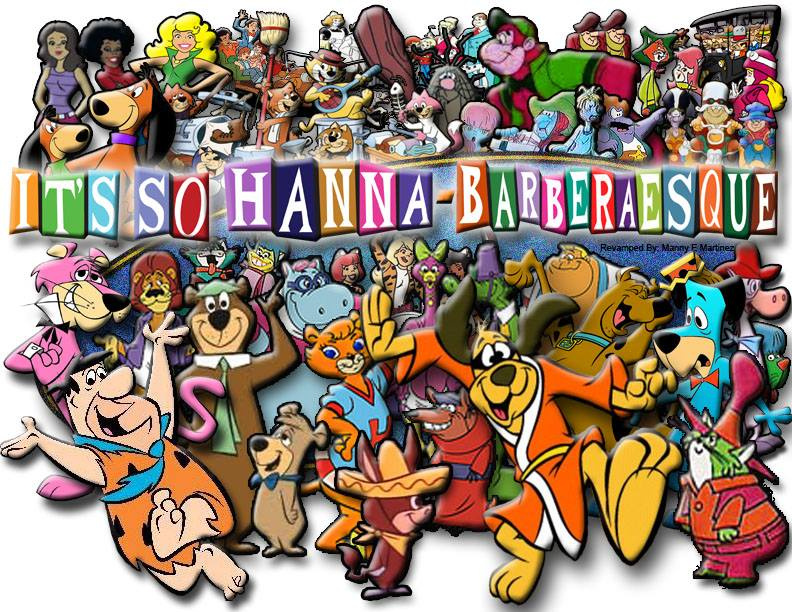Its So Hanna Barberaesque Hanna Barbera Characters As