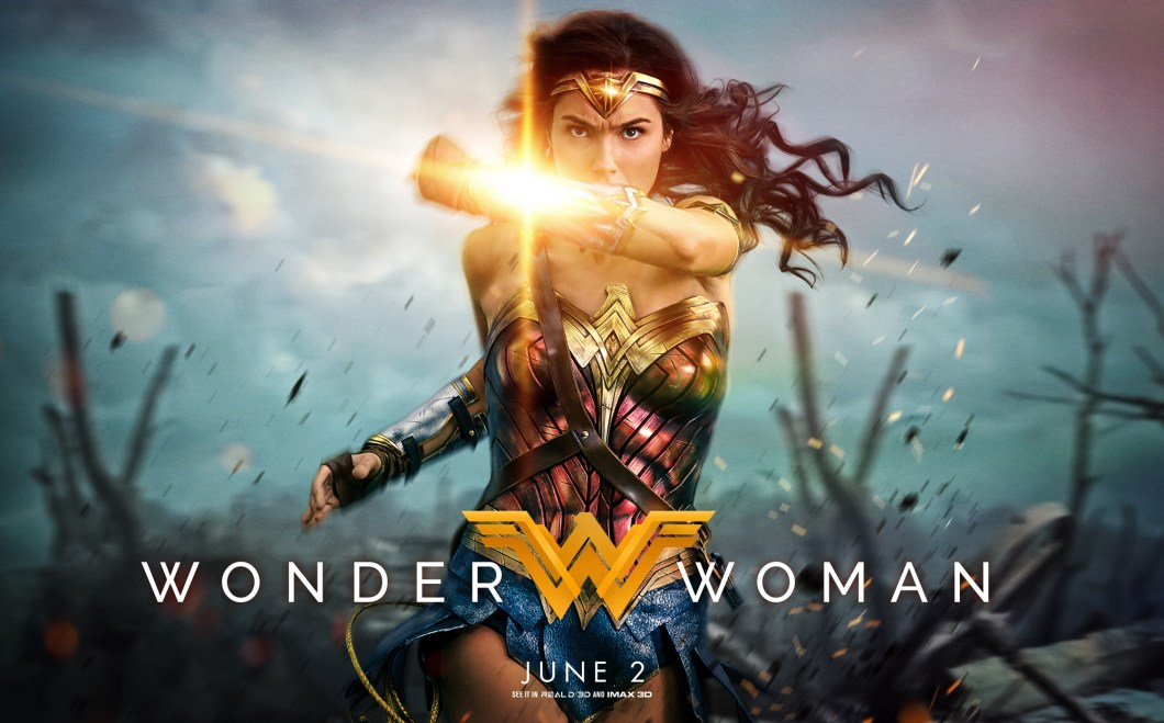 Image result for wonder woman 2017 poster