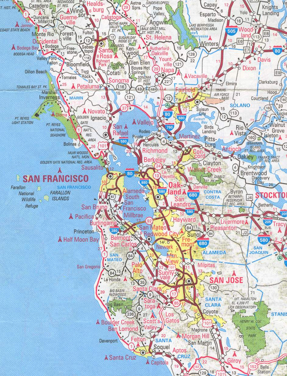 Maps Sf Bay Area California English 4 Me 2 A day's worth of sf bay area traffic in. maps sf bay area california english