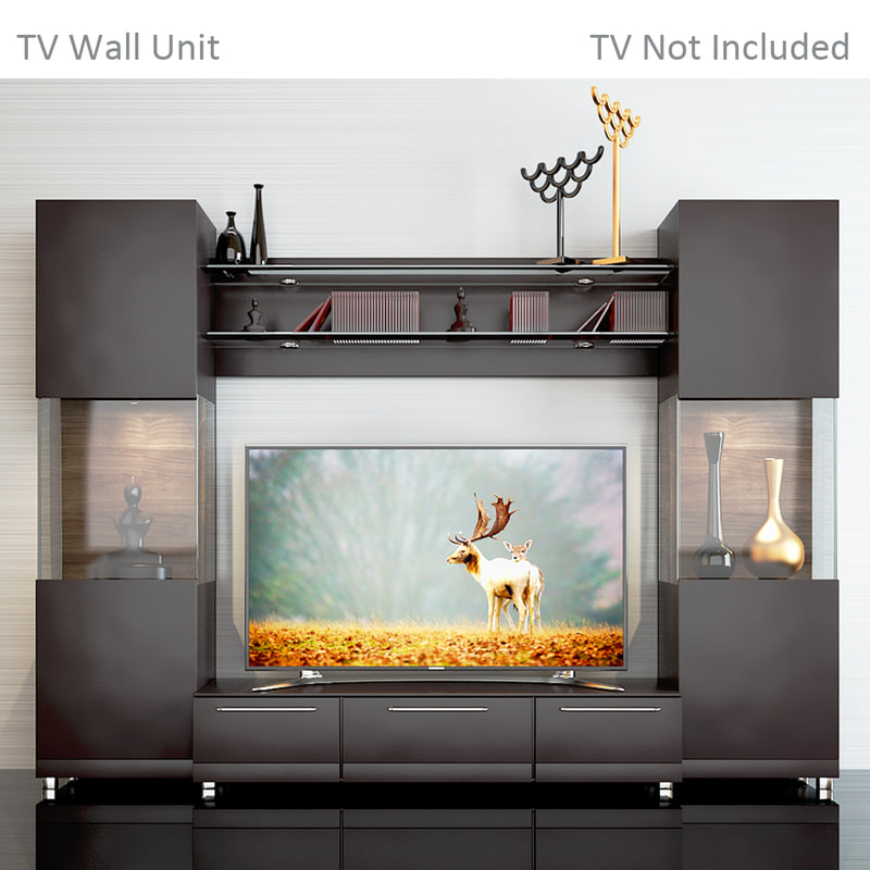 3d Tv Wall 2 Model Turbosquid 1164965