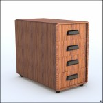 Free Rolling Cabinet 3d Model Turbosquid 1205836