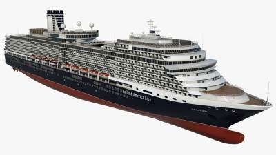 3D cruise ms eurodam ship model - TurboSquid 1257608