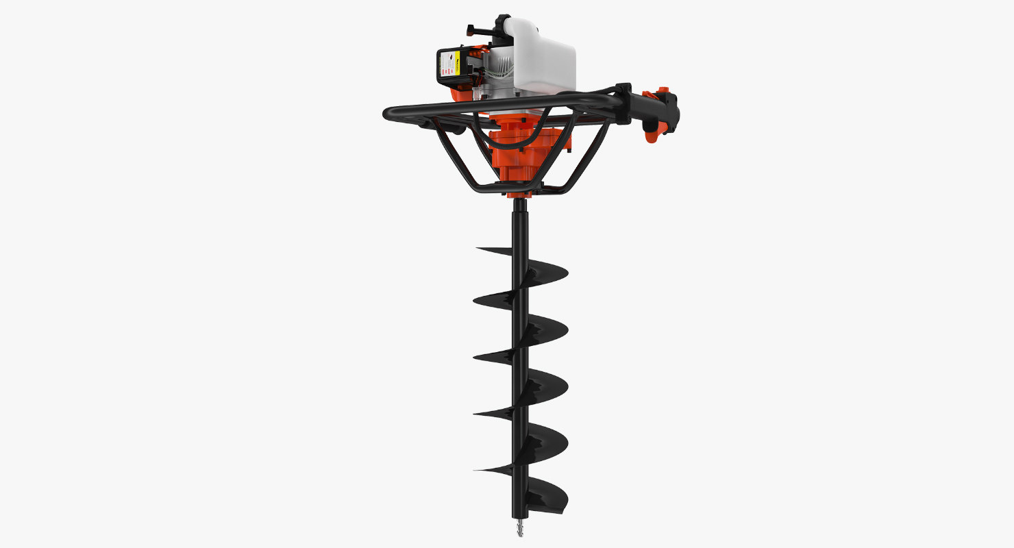 3d Hole Digger Gasoline Auger Model