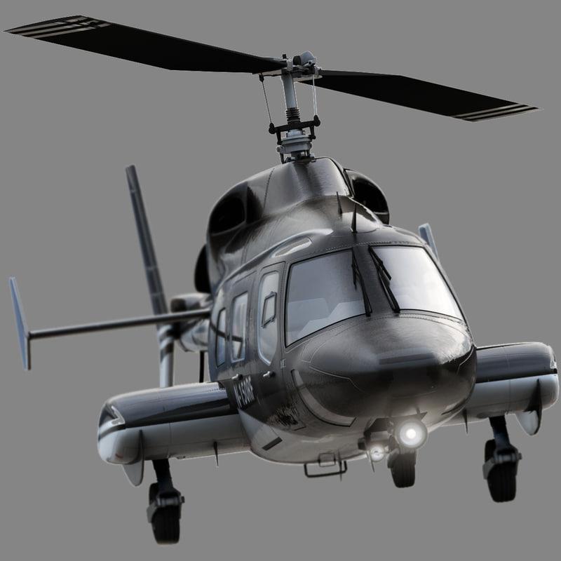 3d Bell 222 Model
