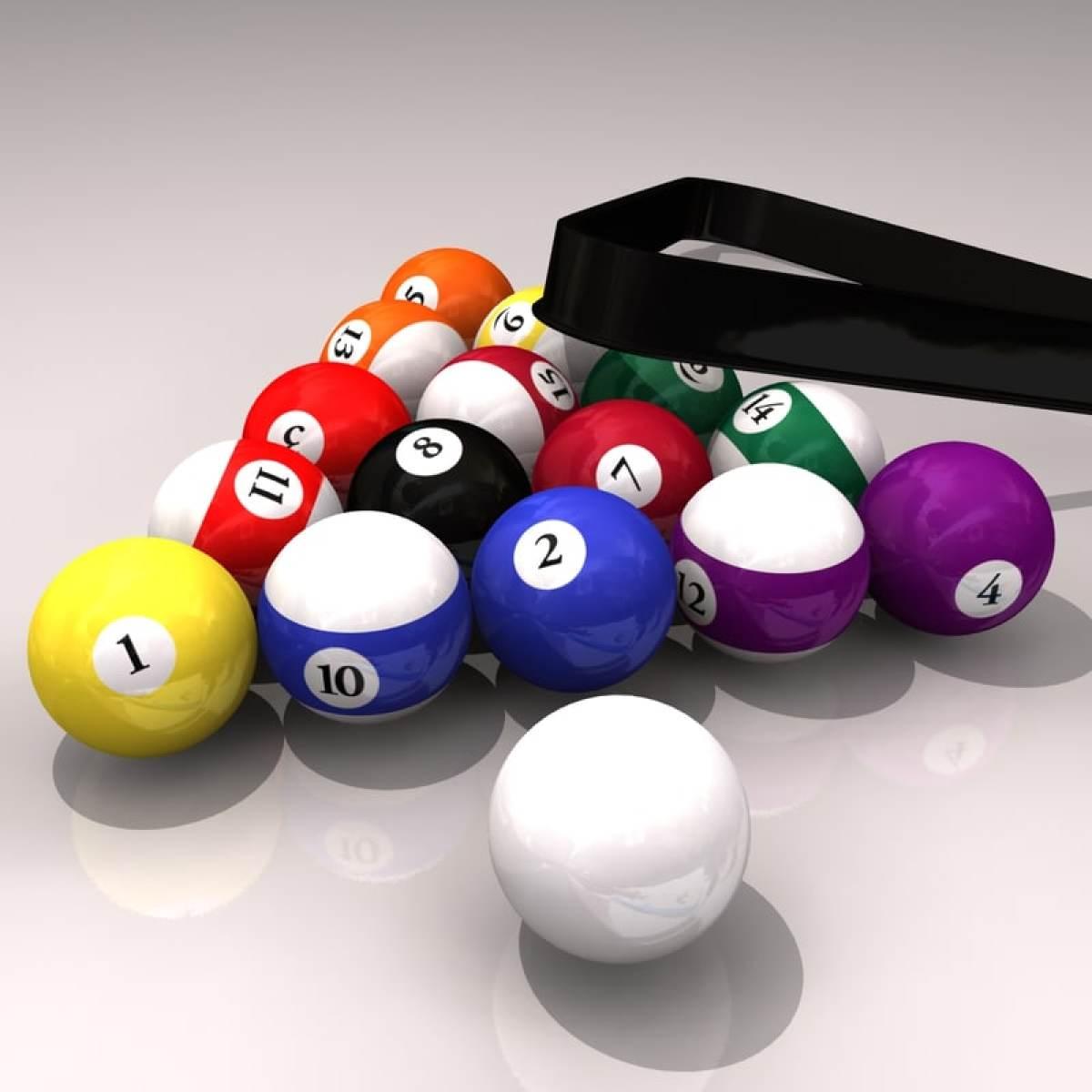 billiard balls 3d models and textures   turbosquid
