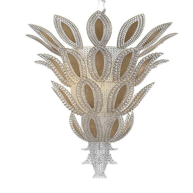 Pinele Art Deco Luxury Crystal Chandelier