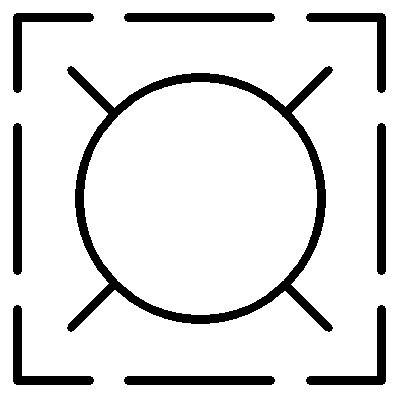 building revit family light 2d symbol