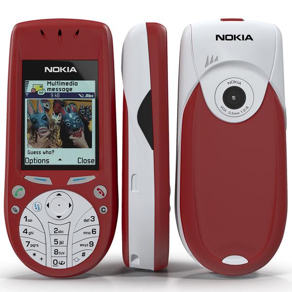 modèle 3D de Nokia 3660 - TurboSquid 854829