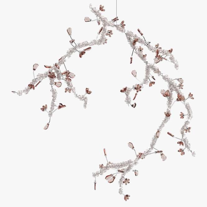 Swarovski Blossom Chandelier Model