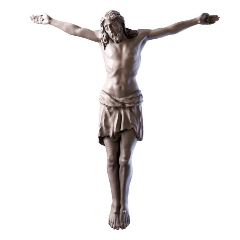 Jesus Cross 3d Model Turbosquid 1154717
