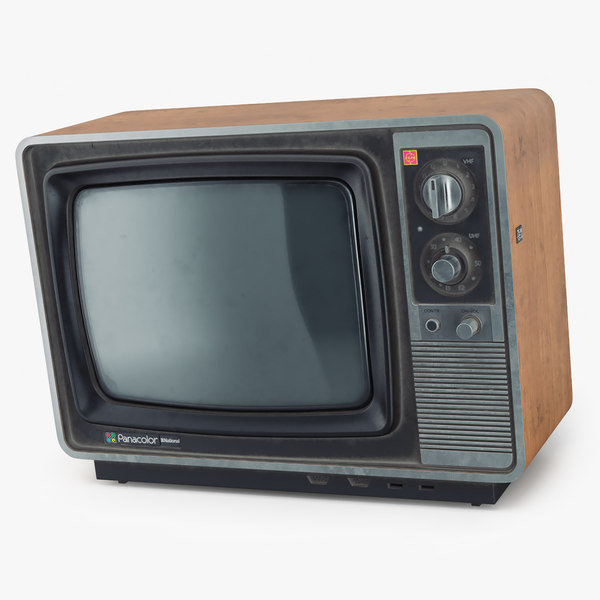 Old tv national panacolor model - sim mods