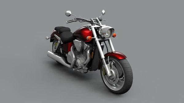 honda vtx 1800 3d model turbosquid 1618830