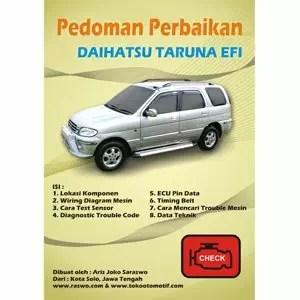 Pedoman Perbaikan Daihatsu Taruna EFI  Surakarta  Jawa