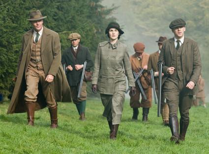 Downton Abbey Season Two Finale Pic