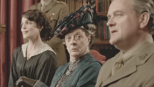 Maggie Smith on Downton Abbey