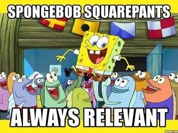 Spongebob Squarepants Running From Patrick Youtube