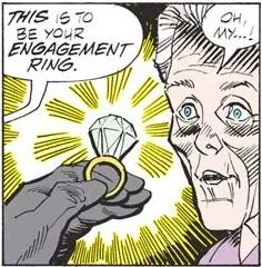 Image result for grinch engagement ring!
