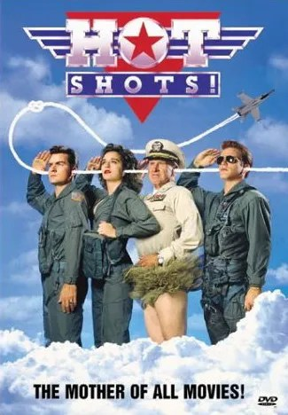 Hot Shots Charlie Sheen Valeria Golino Jon Cryer Lloyd Bridges