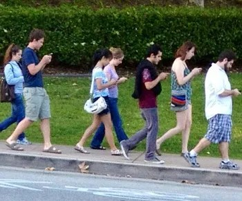 Mobile Phone Zombies