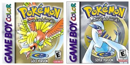 Image result for Pokemon re release gold and silver