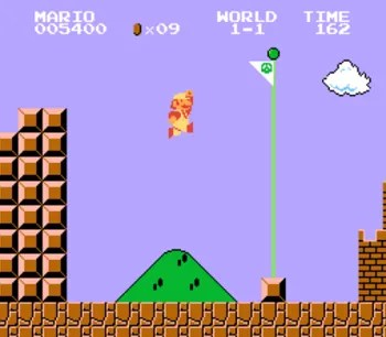 SuperMario game screenshot