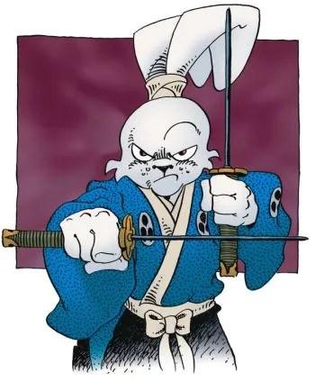 Usagi Yojimbo, à défaut de Bugs Bunny.