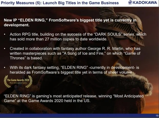 Elden Ring May Be Delayed Again, Parent Company FromSoftware 34 |  TweakTown.com warns