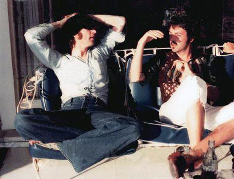 Das letzte gemeinsame Foto von John & Paul