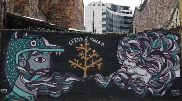 Streetart Bogota Mex Col