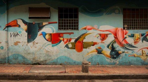 Streetart Bogota Rodez