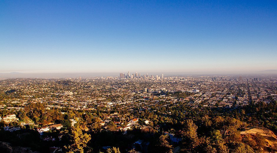 Los Angeles Panorama Griffith Obervatory