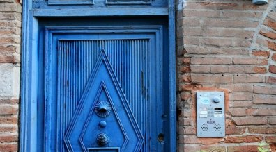 Toulouse Blue Door