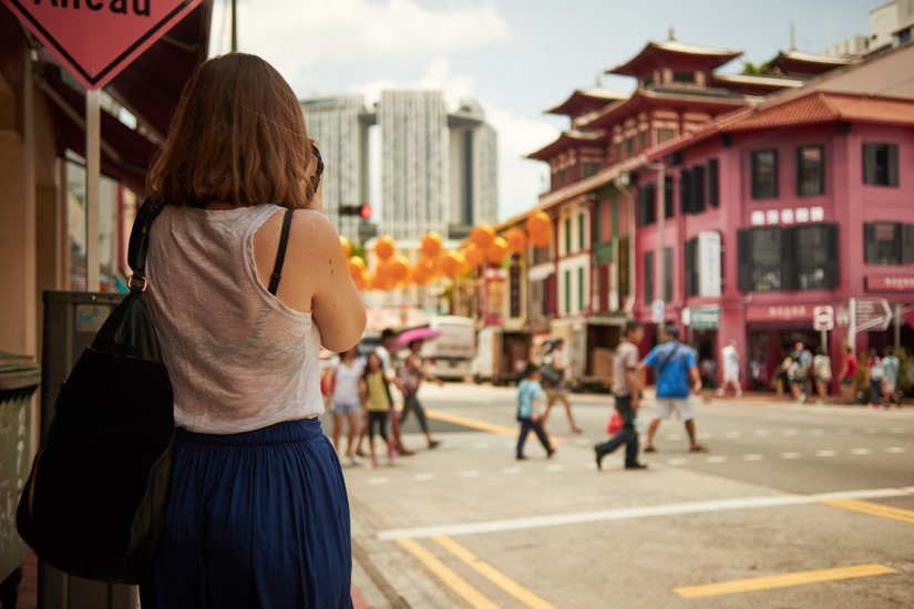 Singapore Chinatown Lisa Mattis