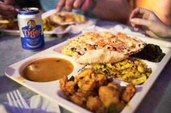Singapore Lau Pa Sat Food