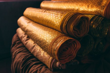 Golden textiles