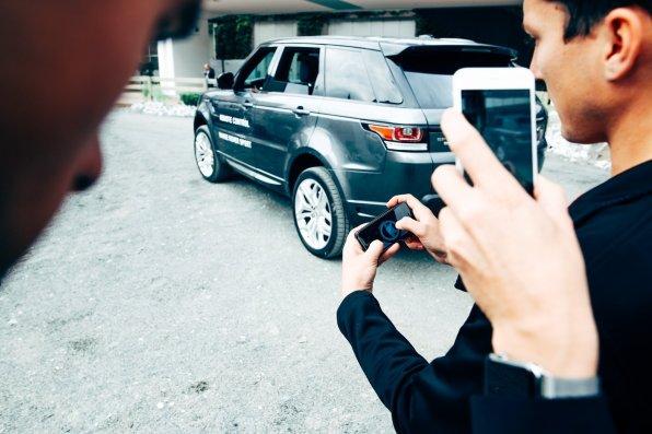 Remote Control mit dem Range Rover Sport