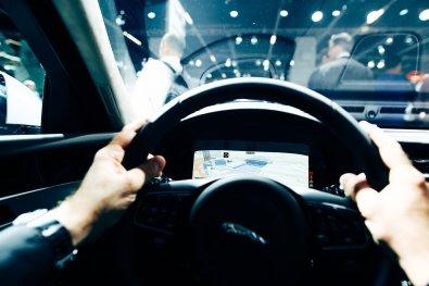 Jaguar F-PACE Infotainment