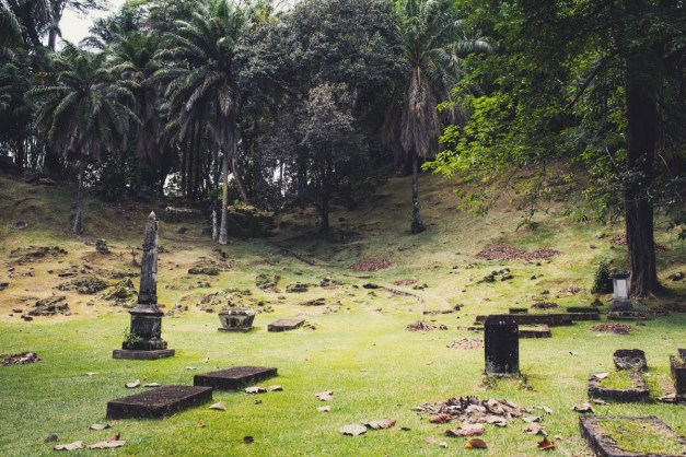 Seychellen Bel Air Cemetery