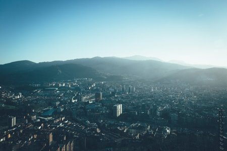 Bilbao von Oben