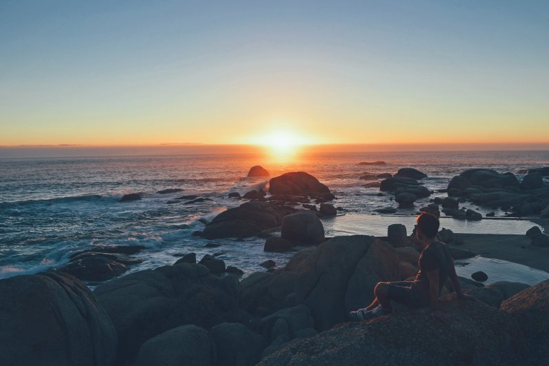 Camps Bay Sonnenuntergang