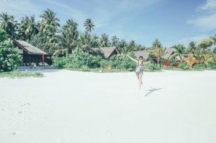 Mia auf den Malediven